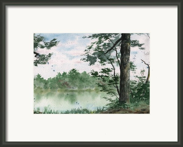 Plein Air 11 Framed Print By Sean Seal