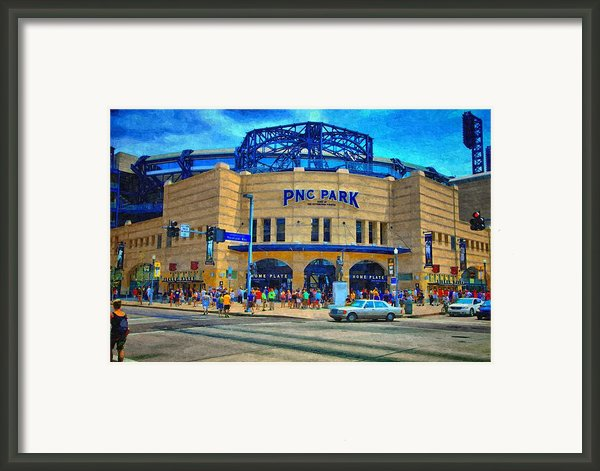 Pnc Park Framed Print By Matt Matthews