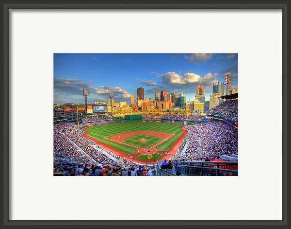 Pnc Park Framed Print By Shawn Everhart