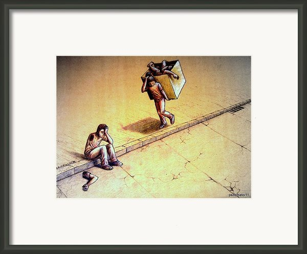 Poetries Incomplete Framed Print By Paulo Zerbato