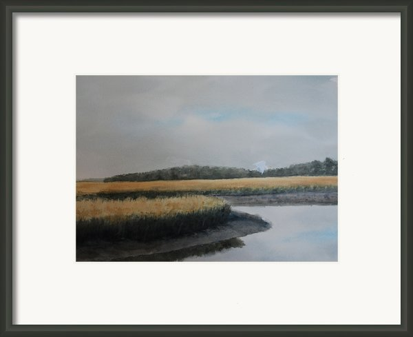 Point Comfort Framed Print By Stanton Allaben