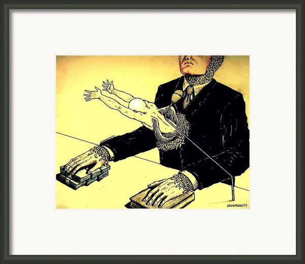 Politics Without Idealism Framed Print By Paulo Zerbato