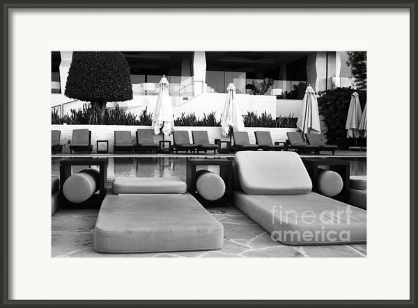 Pool Life Framed Print By John Rizzuto