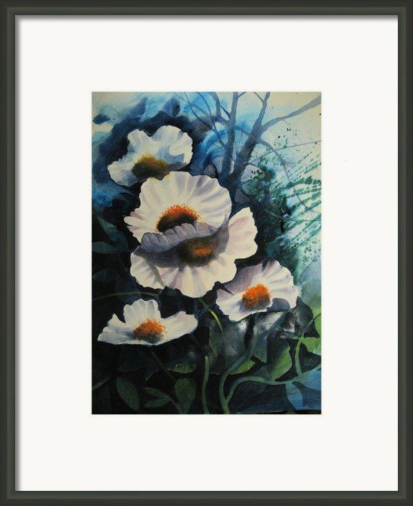 Poppies Framed Print By Robert Carver