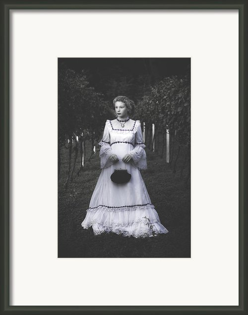 Porcelain Doll Framed Print By Joana Kruse