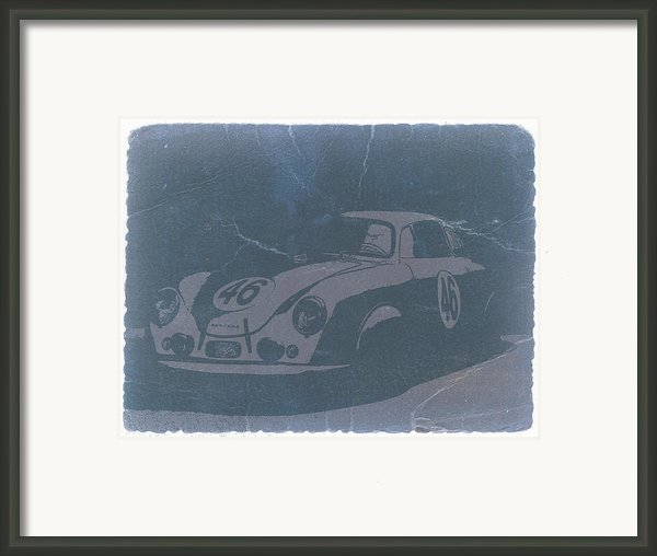 Porsche 356 Coupe Front Framed Print By Irina  March