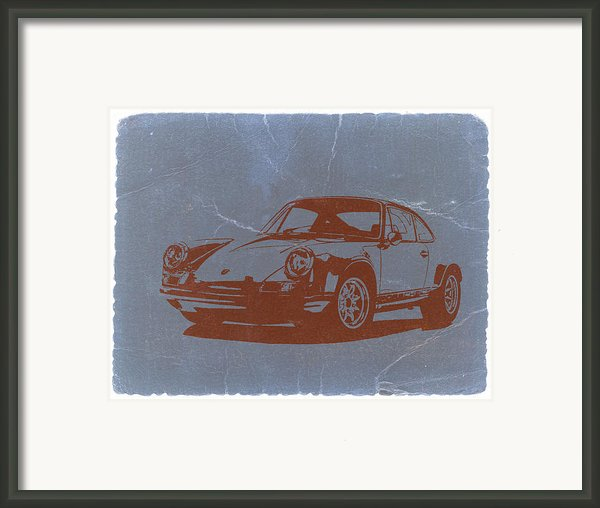Porsche 911 Framed Print By Naxart Studio