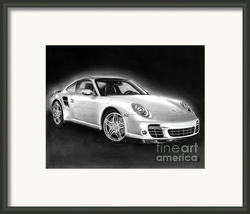 Porsche 911 Turbo    Framed Print By Peter Piatt