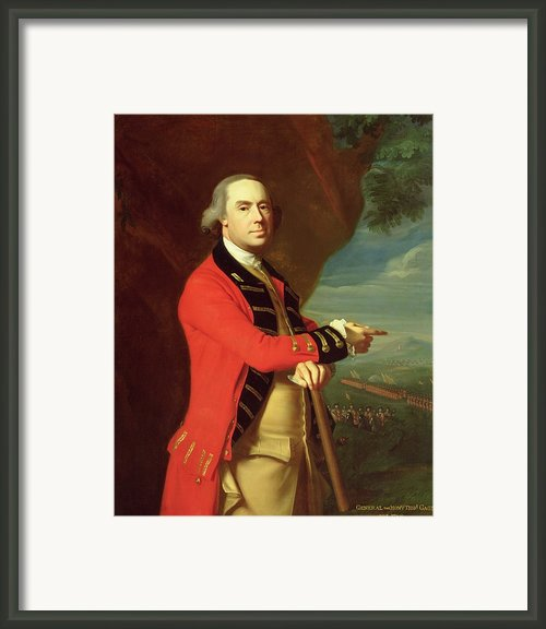 Portrait Of General Thomas Gage Framed Print By John Singleton Copley