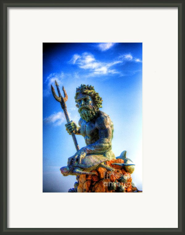 Poseidon Framed Print By Dan Stone