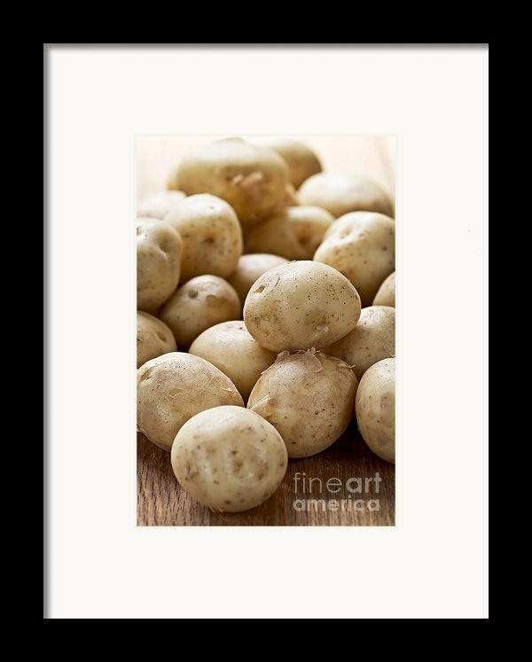 Potatoes Framed Print By Elena Elisseeva