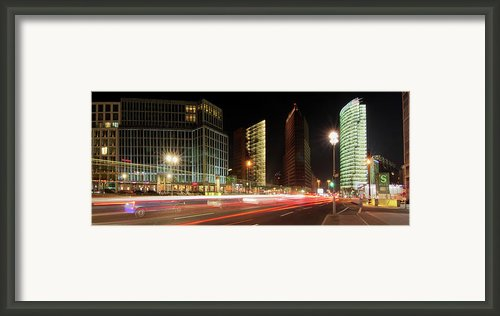 Potsdamer Place Framed Print By Marc Huebner