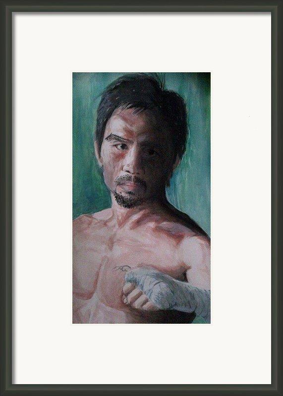 Pound4pound Framed Print By Saigon De Manila