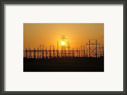 Power Framed Print By David Lee Thompson