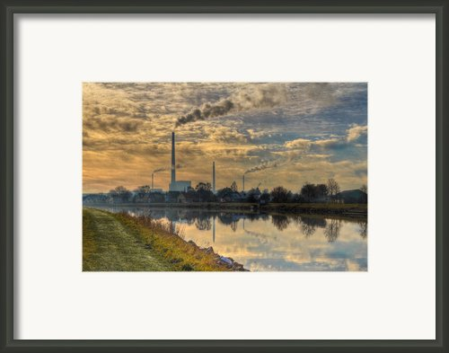 Power Plant Framed Print By Gert Lavsen