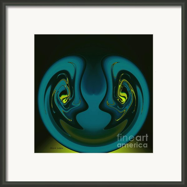 Powerful Woman Framed Print By Jayne Logan Intveld