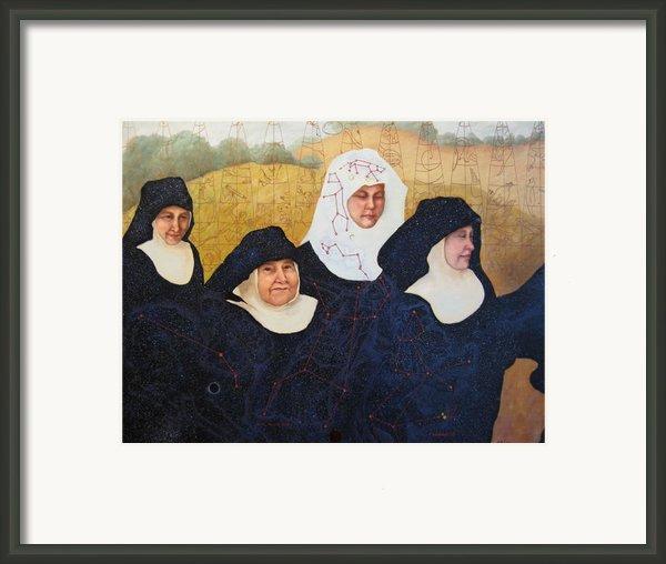 Praenuntius Framed Print By Leda Miller