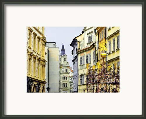 Prague - Walking In The Footsteps Of Kings Framed Print By Christine Till