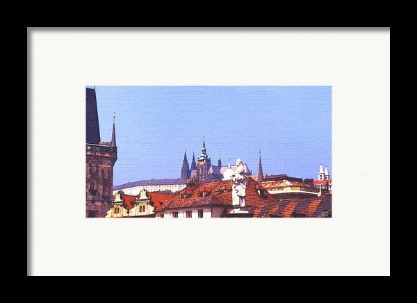 Prague Castle Framed Print By Steve Huang