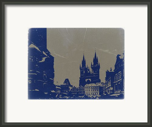 Prague Old Town Square Framed Print By Irina  March