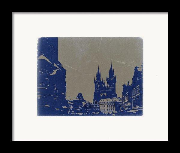 Prague Old Town Square Framed Print By Naxart Studio