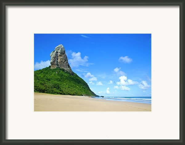 Praia Da Conceição Framed Print By Nicolas Vallejos Photography And Design