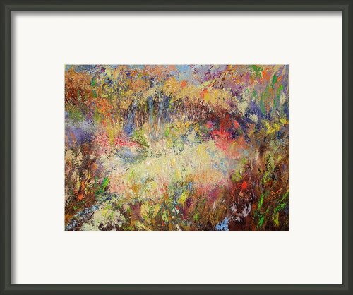 Prairie Dance Framed Print By Rose Fisher
