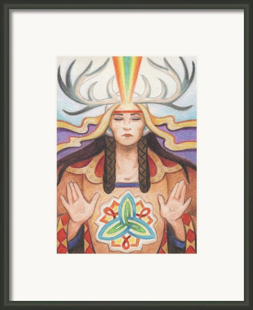 Pray For Unity Dream Of Peace Framed Print By Amy S Turner