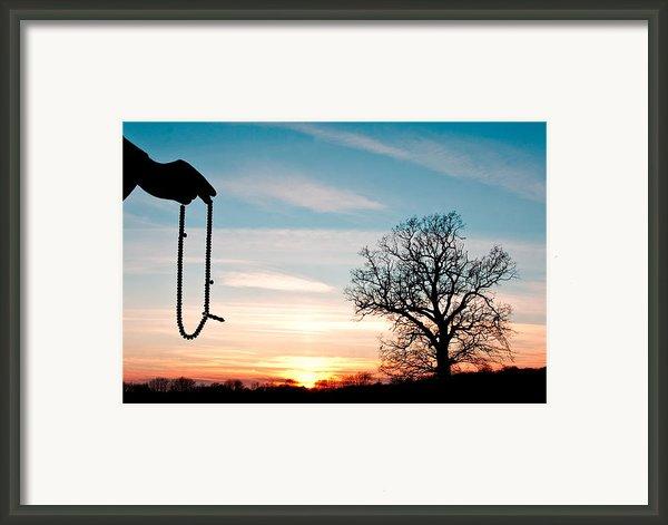 Prayer Beads Framed Print By Tom Gowanlock