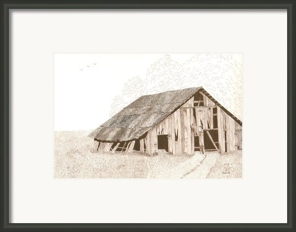 Pre-collapse Framed Print By Pat Price