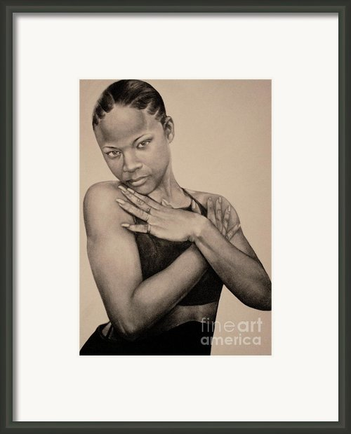 Precious Framed Print By Curtis James