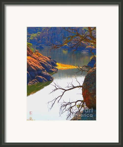 Prescott Framed Print By Robert Hooper