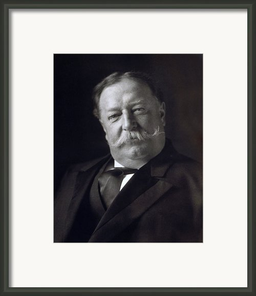 President William Howard Taft Framed Print By International  Images