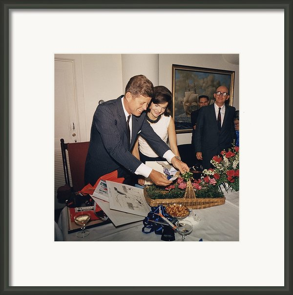 Presidents Birthday Party, Given Framed Print By Everett