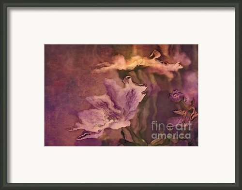 Pretty Bouquet - A04ct3 Framed Print By Variance Collections