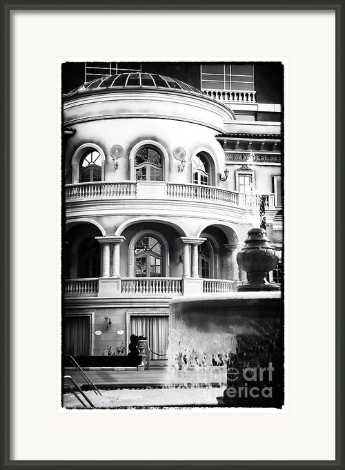 Priceless In Vegas Framed Print By John Rizzuto
