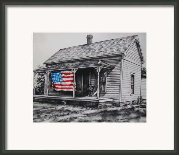 Pride Framed Print By Michael Lee Summers