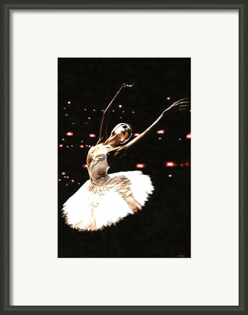 Prima Ballerina Framed Print By Richard Young