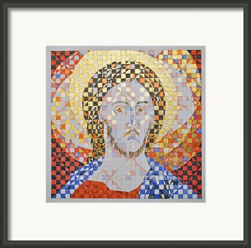 Prince Of Peace Framed Print By Maria Cristina Borrero