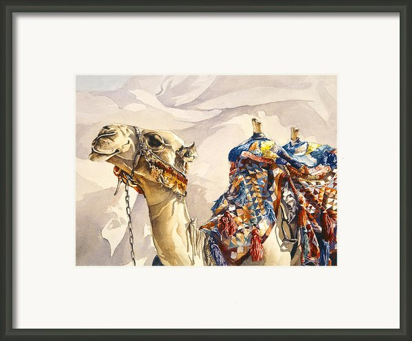 Prince Of The Desert Framed Print By Beth Kantor
