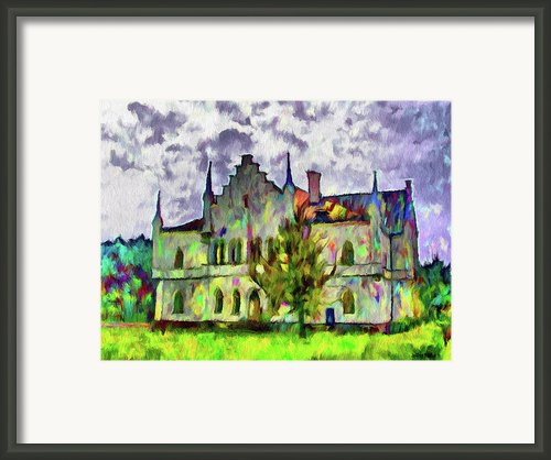 Princely Palace Framed Print By Jeff Kolker