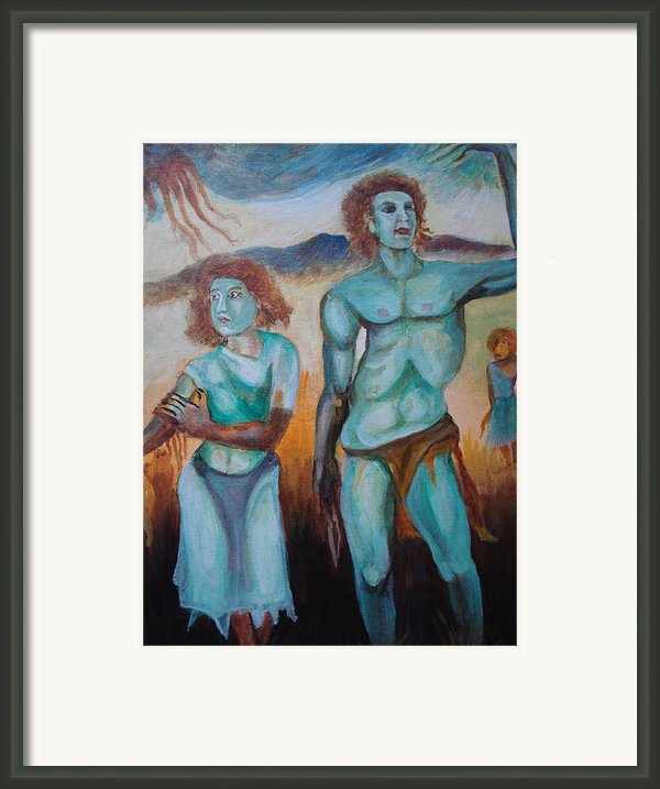 Princes And Zeus Framed Print By Prasenjit Dhar