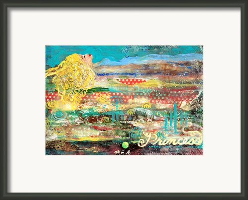 Princess And The Pea Framed Print By Jennifer Kelly