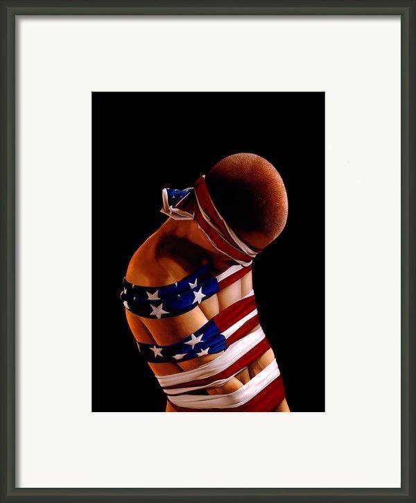 Prisoner Of War Framed Print By Philip Straub