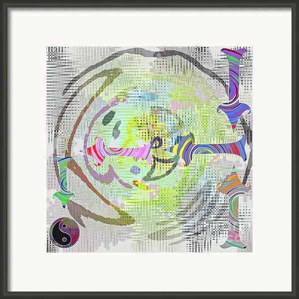 Process Framed Print By Gwyn Newcombe