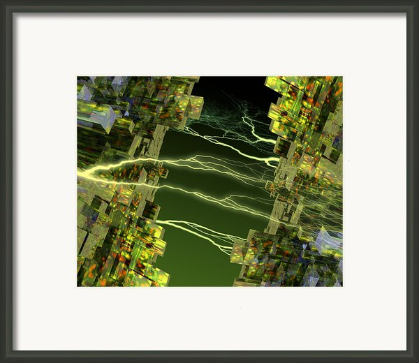 Processor Power Framed Print By Victor Habbick Visions