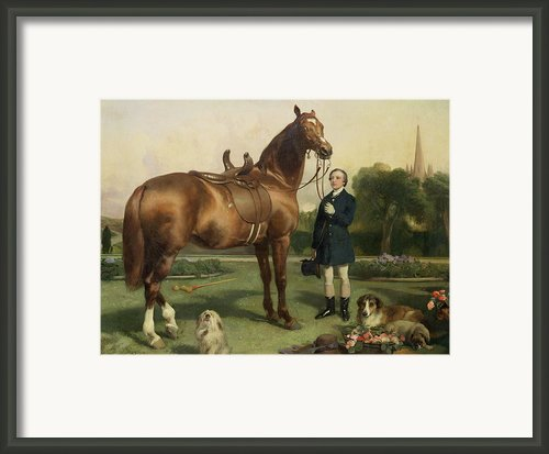Prosperity Framed Print By Sir Edwin Landseer