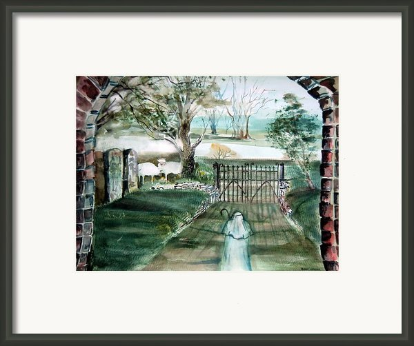 Psalm 23 Framed Print By Mindy Newman