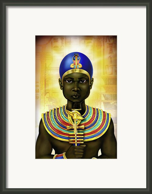 Ptah Framed Print By Gerald Richards