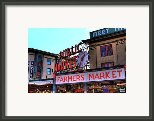 Public Market Ii Framed Print By David Patterson